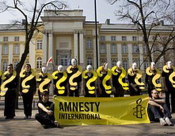 Тайные тюрьмы должны прекратить свое существование. Фото предоставлено пресс-службой организации Amnesty International