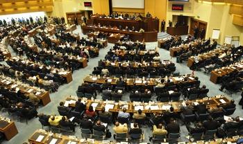 В Адис-Абебе открылся саммит Африканского союза. Фото:  SIMON MAINA/AFP/Getty Images