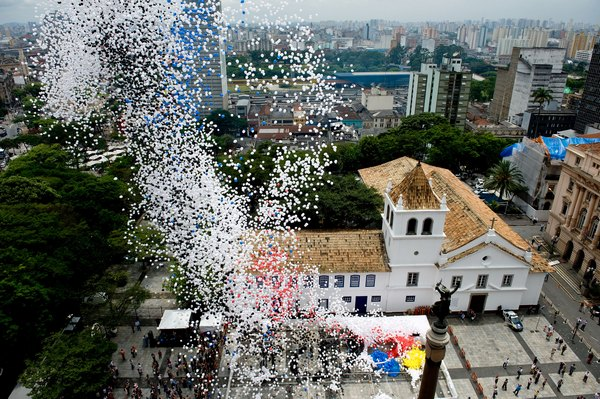 Мир празднует Новый год. Новый год в Бразилии. Фото: NELSON ALMEIDA/AFP/Getty Images