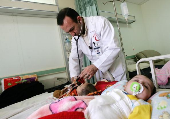 Все больше детей с врожденными дефектами рождается в иракском городе Фаллуджа. Фото: Muhannad Falaah/Getty Images