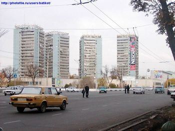 В Ташкенте взорван автомобиль чиновника. Фото с сайта photofile.name