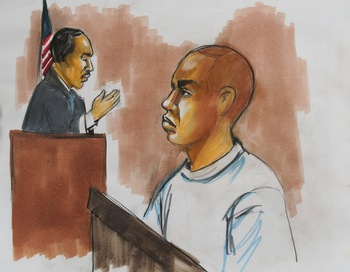 Подозреваемый отказался признать предъявленные ему обвинения.Фото:  Vera Sadock/AFP/Getty Images