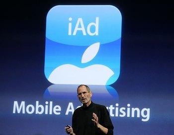 Корпорация Apple представила собственный мобильный рекламный сервис iAd