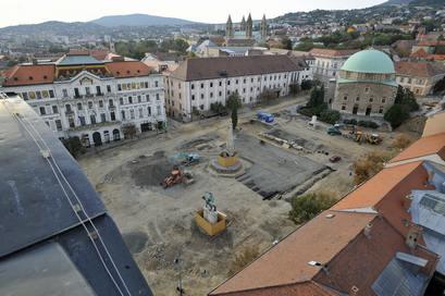 ATВенгрия: город Печ - один из культурных столиц Европы. Фото: TILA KISBENEDEK/AFP/Getty Images