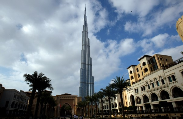 Башня Burj Khalifa. Фото:  KARIM SAHIB/AFP/Getty Images