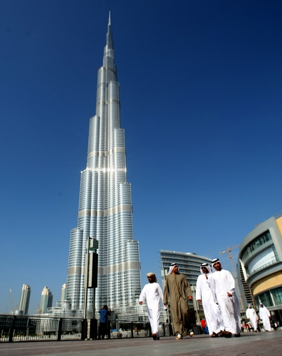Башня Burj Khalifa. Фото:  David Cannon/Getty Images