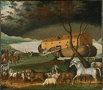 Эдвард Хикс. «Ноев ковчег». Фото:Wikipedia.org