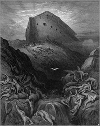 Гюстав Доре. «Ноев ковчег». Фото:Wikipedia.org