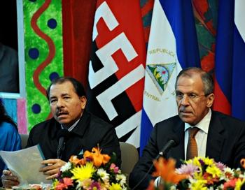 Россия и Никарагуа наращивают сотрудничество. Фото:  ELMER MARTINEZ/AFP/Getty Images