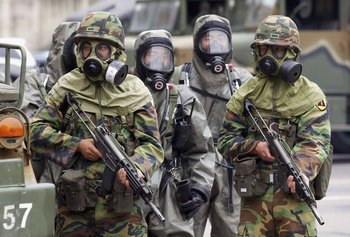 Французские власти преднамеренно подвергали солдат воздействию радиации. Фото:  Chung Sung-Jun/Getty Images