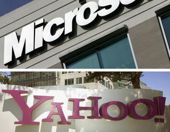 ЕС и США одобрили поисковое партнерство Microsoft и Yahoo.  Фото:   AFP/AFP/Getty Images
