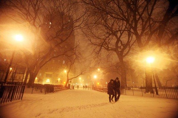 Снежный шторм прошёл на территории десятков штатов США: пять человек погибли.Фото: Фото: Mario Tama/Getty Images