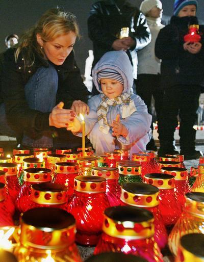 День памяти жертв геноцида. Фото:  GENIA SAVILOV/AFP/Getty Images