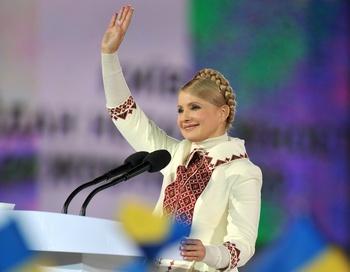 Тимошенко запретила сайты Vkontakte.ru и Odnoklassniki.ru. Фото: SERGEI SUPINSKY/AFP/Getty Images