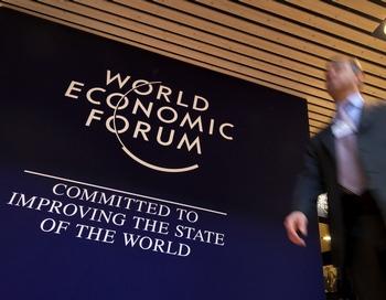 В Давосе участники ВЭФ обсудят вопросы переустройства капитализма. Фото:  FABRICE COFFRINI/AFP/Getty Images