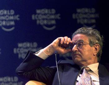 Финансист Джордж Сорос призвал разукрупнять банки. Фото: ALESSANDRO DELLA VALLE/AFP/Getty Images