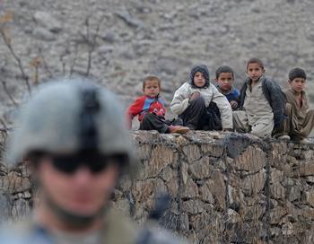 2009 год оказался самым кровавым для иностранных сил, расквартированных в Афганистане. Фото: TAUSEEF MUSTAFA/AFP/Getty Images