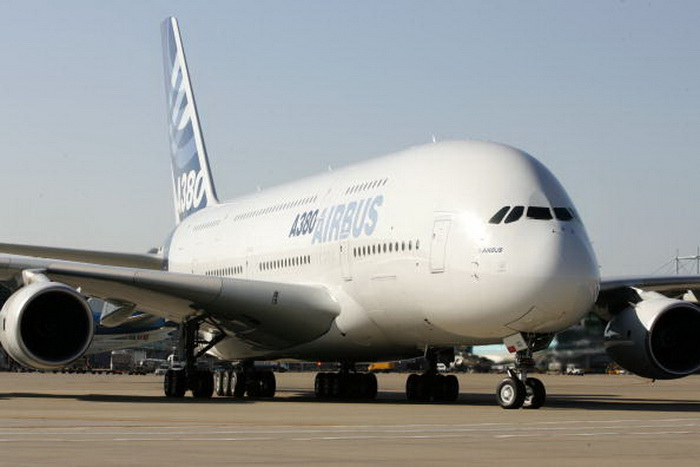 Airbus-380. Фото:  Chung Sung-Jun/Getty Images