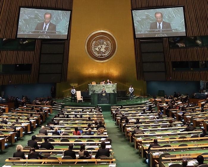 Спор об островах между Китаем и Японией продолжается на общих прениях Генеральной ассамблеи ООН. Фото: John Moore/Getty Images)