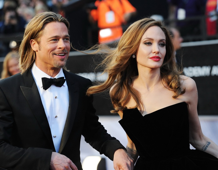 Брэд Питт и Анджелина Джоли. Фото: Jason Merritt/Getty Images
