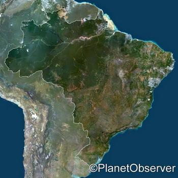 Бразилия. Фото: planetobserver.com