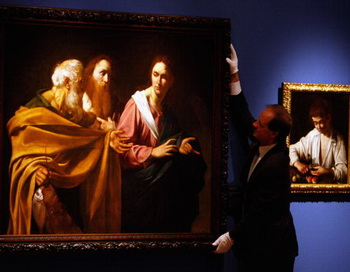 Картины Caravaggio. Фото:  Jeff J Mitchell/Getty Images