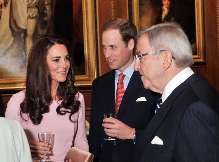 Кэтрин и принц Уильям на обеде суверенных монархов, приглашённых королевой Елизаветой II. Фоторепортаж. Фото: John Stillwell - WPA Pool/Getty Images