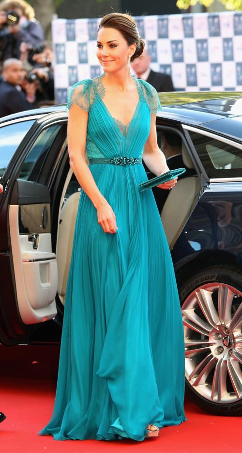 Екатерина, герцогиня Кембриджская, посетила Олимпийский концерт. Фоторепортаж. Фото: Alastair Grant - WPA Pool/Getty Images
