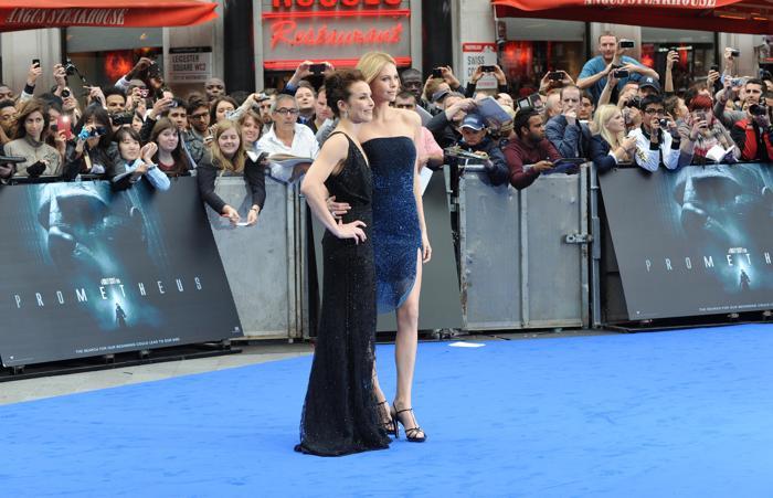 Шарлиз Терон  на премьере фильма Prometheus в Лондоне. Фоторепортаж. Фото: Stuart Wilson/Getty Images