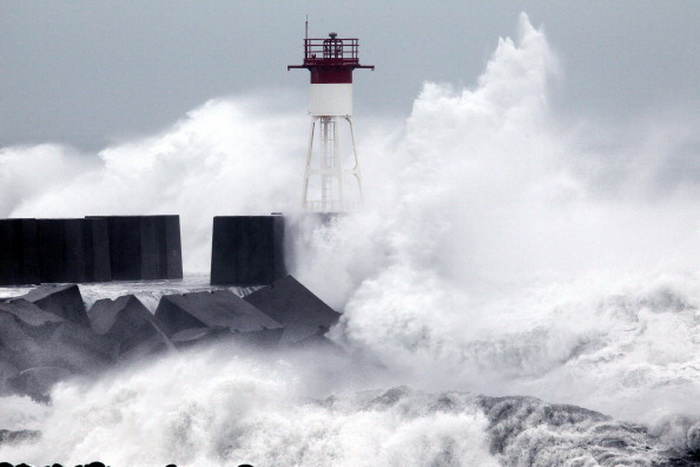 Cyclone. Фото:  RICHARD BOUHET/AFP/Getty Images