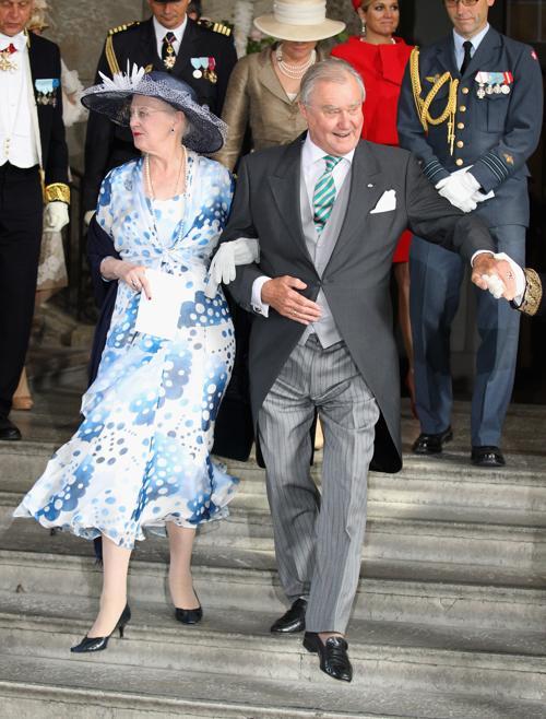 Крестины шведской принцессы Эстель.  Королева Дании Маргрете, принц-консорт Хенрик. Фоторепортаж. Фото: Chris Jackson/Getty Images