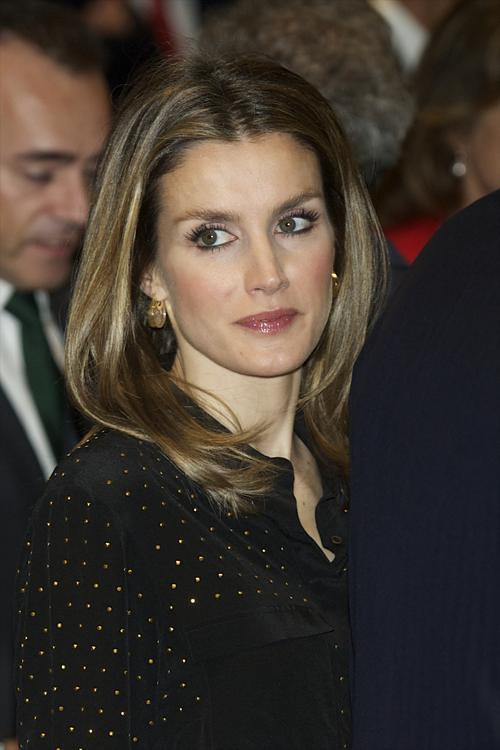Принцесса Испании Летиция приняла участие в открытии  Espacio Fundacion Telefonica. Фоторепортаж.  Фото: Carlos Alvarez/Getty Images