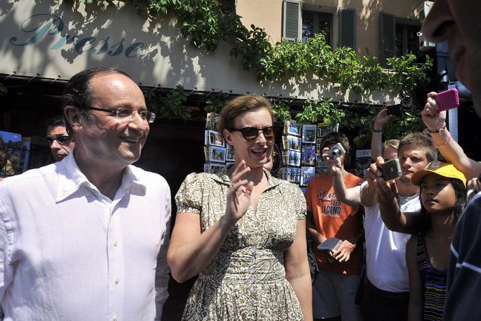 Президент Франции Франсуа Олланд поехал в отпуск, как рядовой француз.  Фото: BORIS HORVAT/AFP/GettyImages