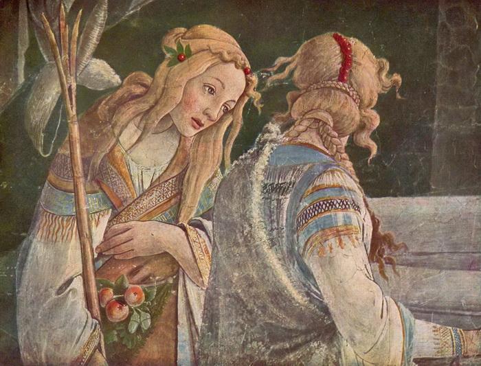 Фрески Сикстинской капеллы.  Фрагмент. Фото: art-pics.ru