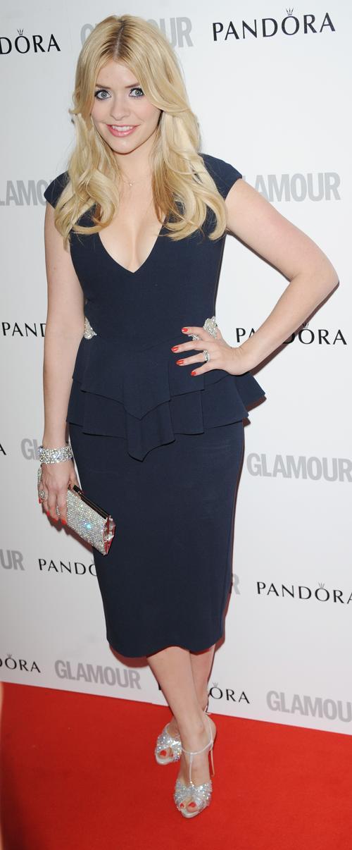 Знаменитости на церемонии награждения Glamour Women of the Year в Лондоне. Holly Willoughby. Фоторепортаж. Фото: Stuart Wilson/Getty Images
