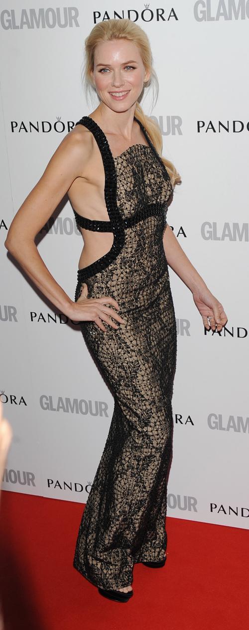Знаменитости на церемонии награждения Glamour Women of the Year в Лондоне. Naomi Watts. Фоторепортаж. Фото: Stuart Wilson/Getty Images