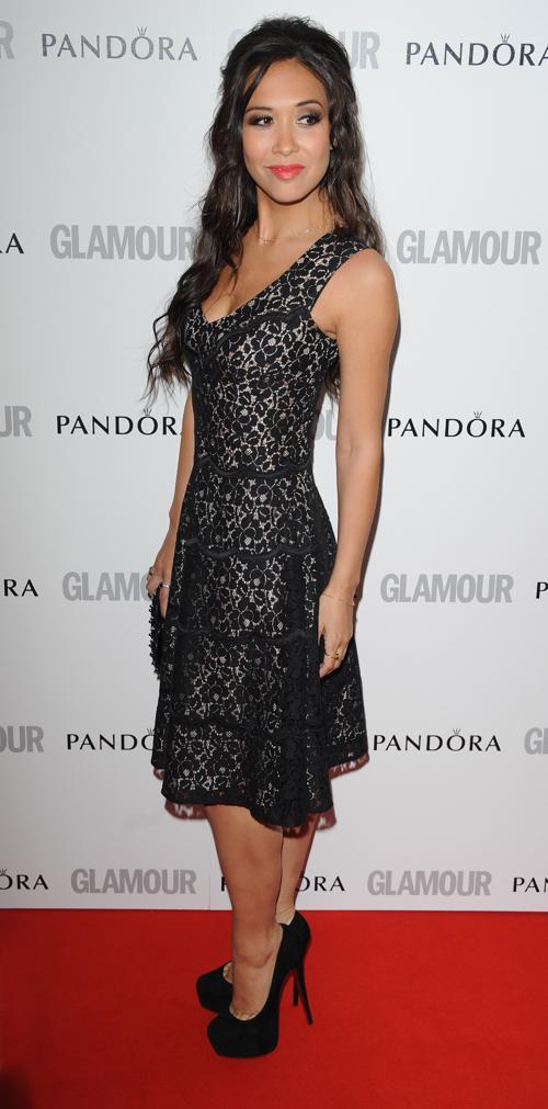 Знаменитости на церемонии награждения Glamour Women of the Year в Лондоне. Myleene Klass. Фоторепортаж. Фото: Stuart Wilson/Getty Images