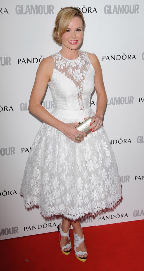 Знаменитости на церемонии награждения Glamour Women of the Year в Лондоне. Amanda Holden. Фоторепортаж. Фото: Stuart Wilson/Getty Images