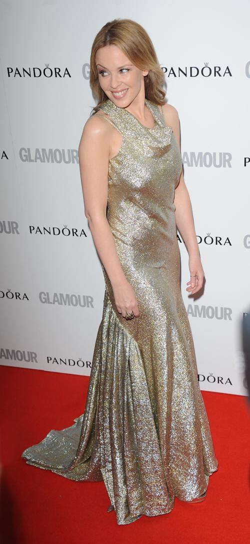 Знаменитости на церемонии награждения Glamour Women of the Year в Лондоне. Kylie Minogue. Фоторепортаж. Фото: Stuart Wilson/Getty Images