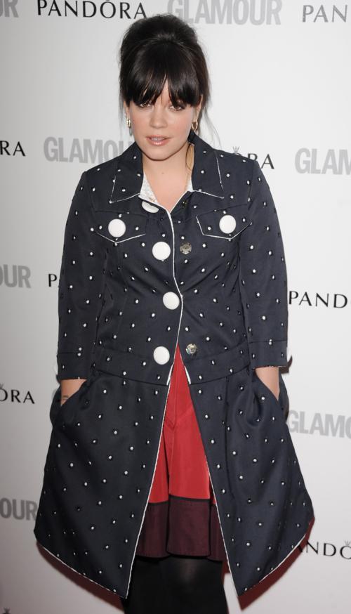 Знаменитости на церемонии награждения Glamour Women of the Year в Лондоне. Lily Allen. Фоторепортаж. Фото: Stuart Wilson/Getty Images