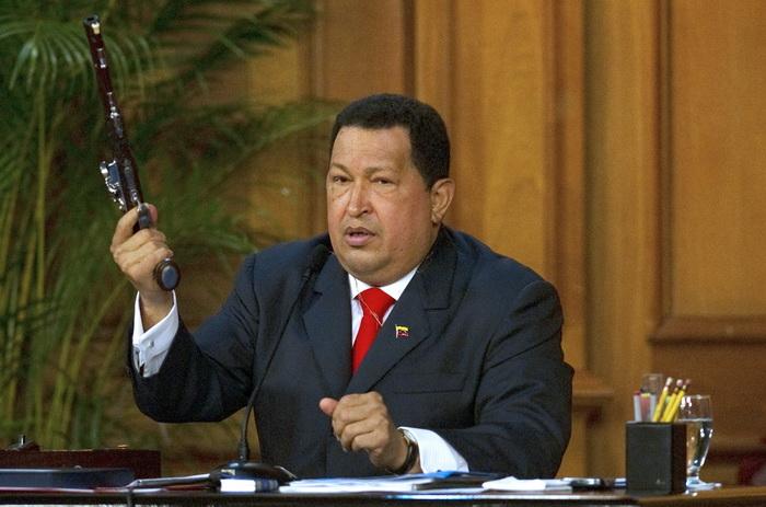 Hugo Chavez.  Фото: JUAN BARRETO/AFP/GettyImages