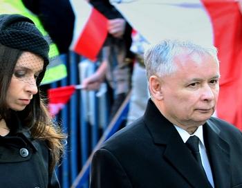 Ярослав Качиньский, брат погибшего президента Польши, выдвинут кандидатом на пост главы государства. Фото:  Leszek Szymanski/AFP/Getty Images