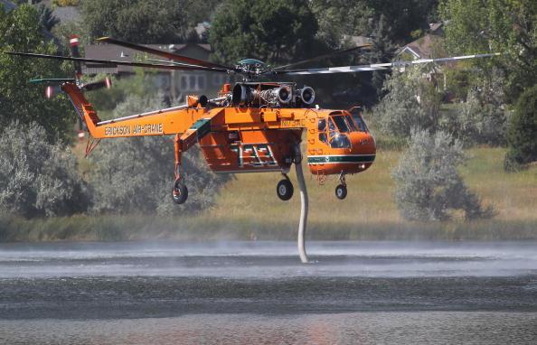 Лесной пожар охватил каньон Колорадо, погибли 9 пожарных. Фоторепортаж. Фото: John Moore/Getty Images