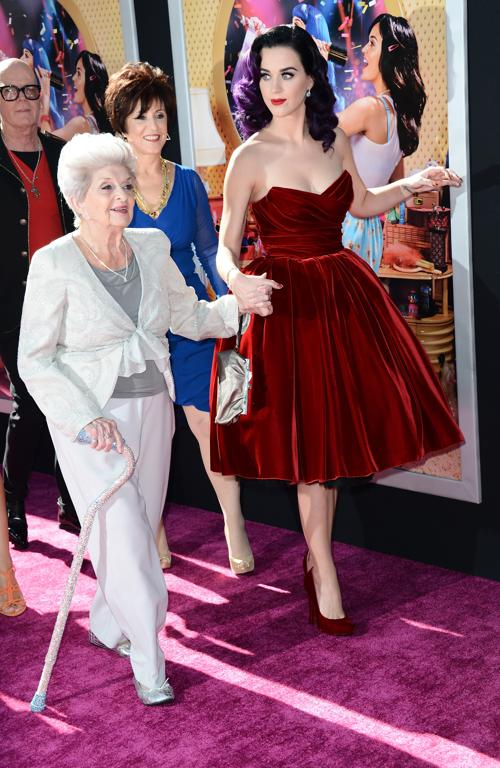 Кэти Перри на премьере Paramount Insurge в Голливуде. Фоторепортаж. Фото: Kevin Winter/Getty Images