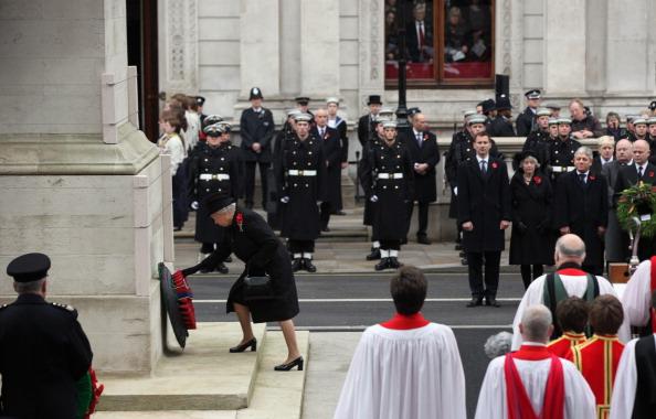 Королева Елизавта II провела  поминальные службы в Лондоне. Фото: Dan Kitwood/Getty Images