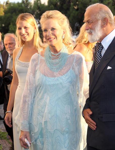 Гости на свадьбе принца Греции Николаоса и Татьяны Блатник. Принц и принцесса Майкл Кентские.  Фоторепортаж. Фото: Chris Jackson/Getty Images