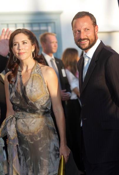Гости на свадьбе принца Греции Николаоса и Татьяны Блатник. Принц Хаокон из Норвегии и принцесса Мэри из Дании. Фоторепортаж. Фото: Chris Jackson/Getty Images