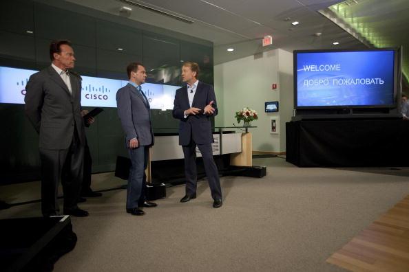 Дмитрий Медведев прибыл  в США.  Фоторепортаж.  Фото: David Paul Morris/Getty Images
