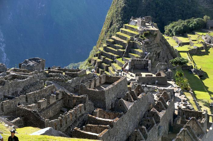 Город руин Мачу-Пикчу выглядит так, как будто он всегда был частью Анд. Фото: CRIS BOURONCLE/AFP/Getty Images