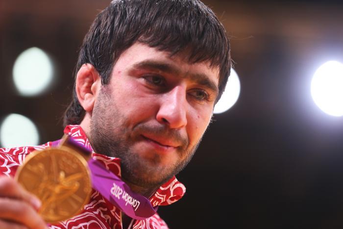 Дзюдоист Мансур Исаев стал олимпийским чемпионом.  Фото:  Alexander Hassenstein/Getty Images